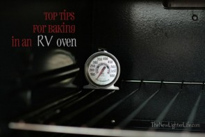 Top Tips for Baking in RV Oven