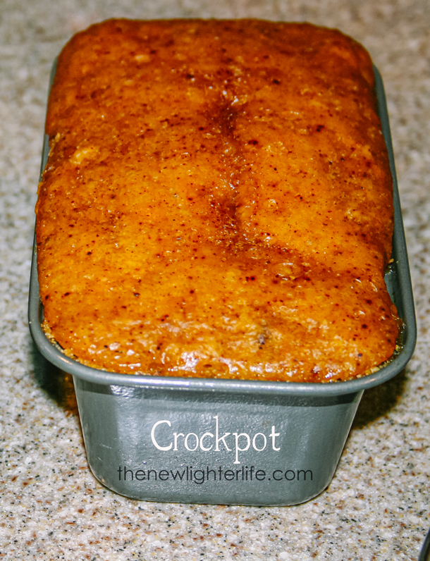 Crockpot Pumpkin Bread
