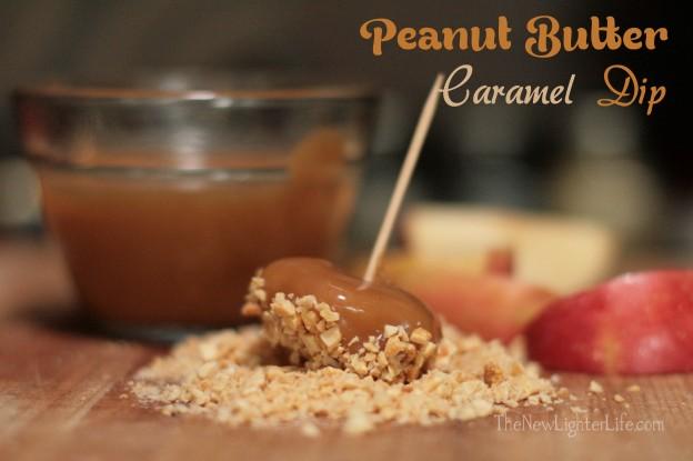 Peanut Butter Caramel Dip
