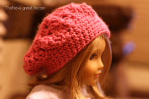 Slouchy American Girl Beret to Crochet