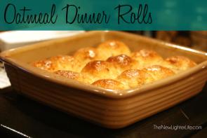 Homemade Oatmeal Dinner Rolls Recipe