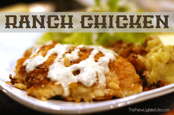 Pan-Fried Ranch Chicken Breasts