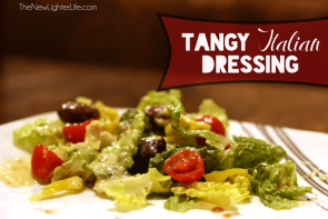 Homemade Tangy Italian Dressing