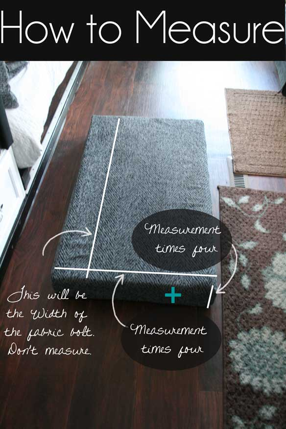 How-to-Measure-a-Cushion-to-Reupholster-it
