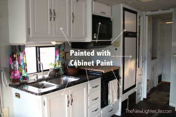 RV Painted Cabinets