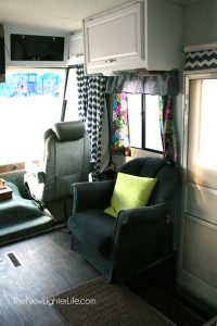 The Big Reveal ~ Remodel Pictures of Our 96 Winnebago Adventurer