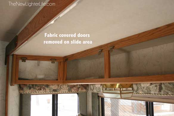 fabric-covered-cabinets-prepped
