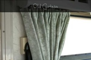 Original Fabric For 96 Winnebago Adventurer Rv Curtains