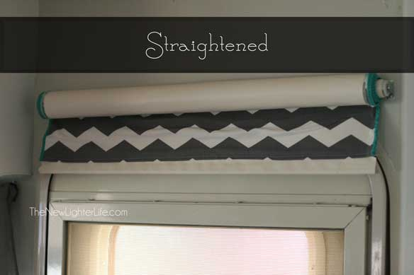 straightened-roller-blind