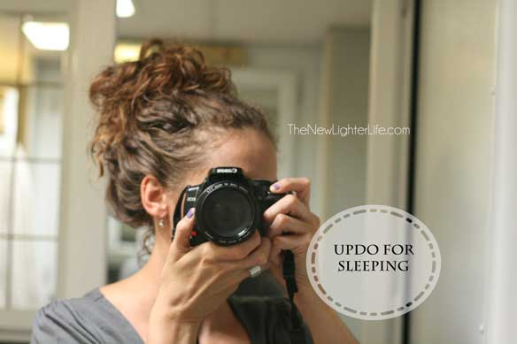 updo-for-sleeping