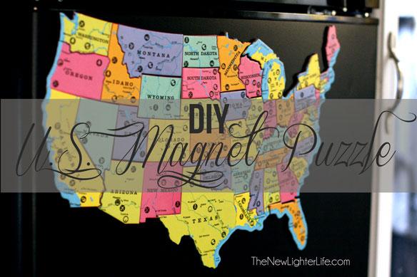 DIY--Magnet-US-Puzzle