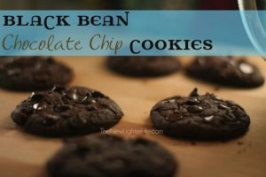 Black Bean Chocolate Chip Cookies ~ Trim Healthy Mama