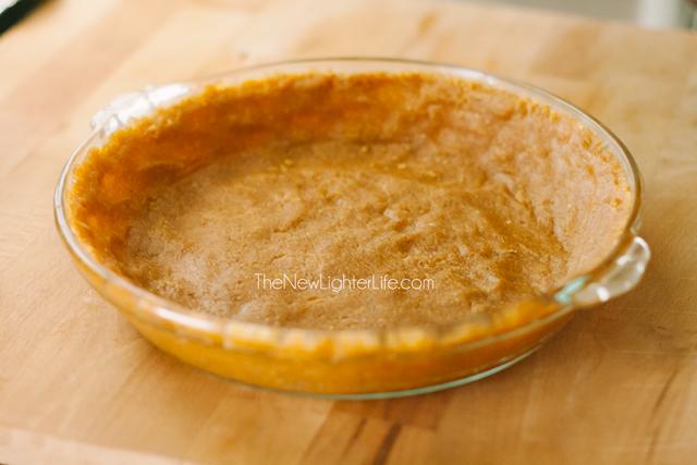 Healthy Peanut Butter Pie Crust