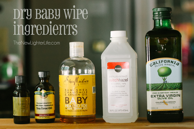 Dry Baby Wipe Ingredients