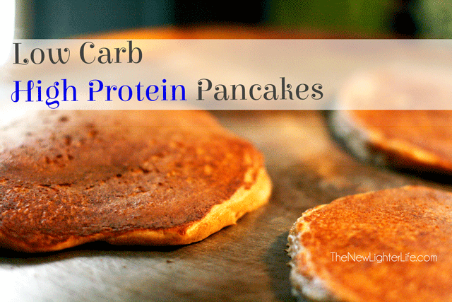 Low Carb High Protein Pancakes