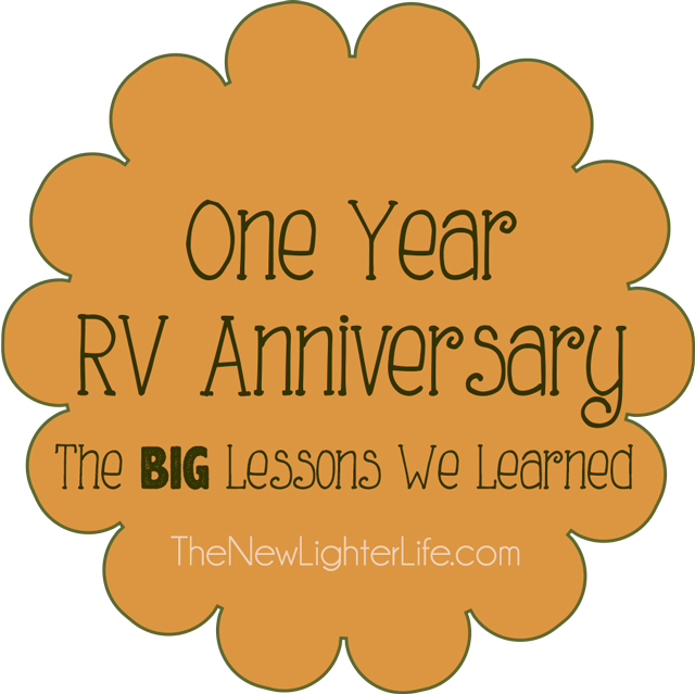 One Year RV Anniversary - The Big lessons our family of 6 learned
