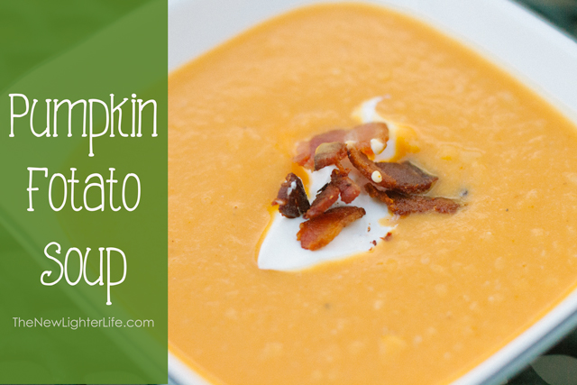 Pumpkin Fotato Soup - Low Carb