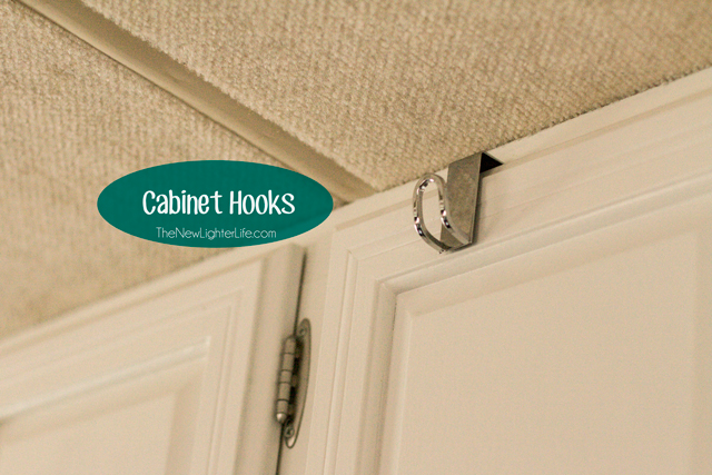Space Saving Cabinet Hooks