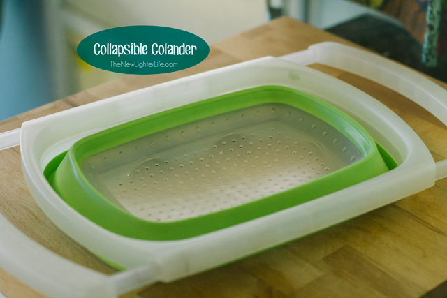 Collapsible Colander for Small Kitchen