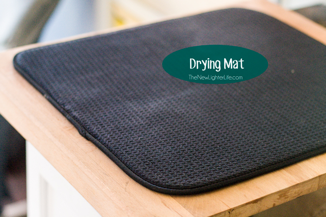 Drying Mat - Space Saving for Small Kitchens