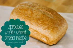 Sprouted Whole Wheat Bread Recipe