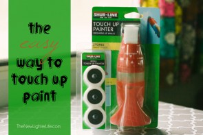 The Easy Way to Touch Up Paint