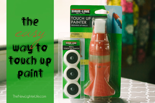 Touch up paint the easy way