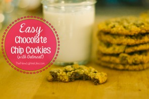 Easy Chocolate Chip Cookie Recipe with Oatmeal