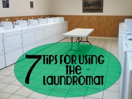 7 Tips for Using a Laundromat