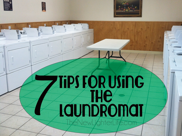 Tips for Using the Laundromat