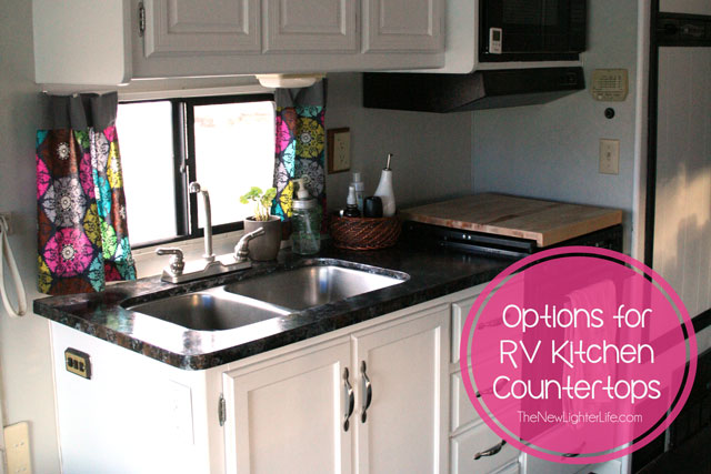 RV Countertop Options to Consider
