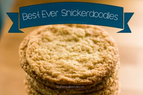 Favorite Homemade Cookies – Best Ever Snickerdoodles