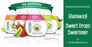 SweetLeaf Stevia Flavor Drops: A Giveaway!