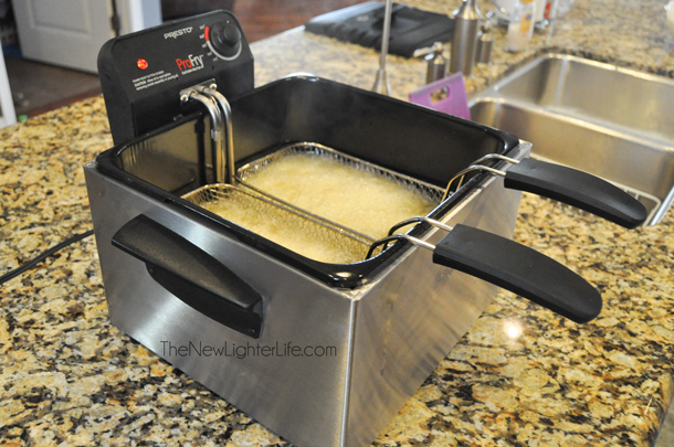 Presto Dual Basket Deep Fryer