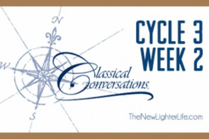 Classical Conversations Cycle 3 Week 2 Wrap Up