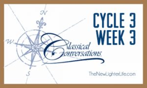 Classical Conversations ~ Cycle 3 Week 3 ~ Wrap Up