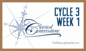 Classical Conversations Cycle 3 Week 1 Wrap Up