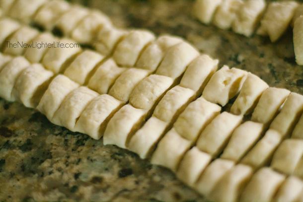 Cut Knoephla Noodles