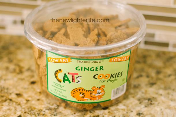 Ginger Cats Cookies Trader Joe's