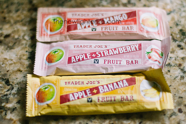 Trader Joe's Fruit Bar