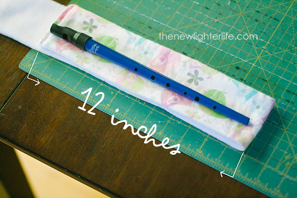 12 inch length on tin whistle case