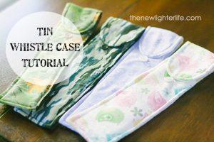 Tin Whistle Case Tutorial