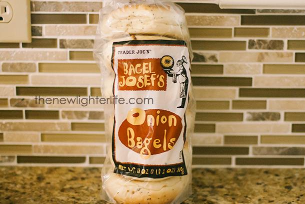 Trader Joe's Onion Bagel