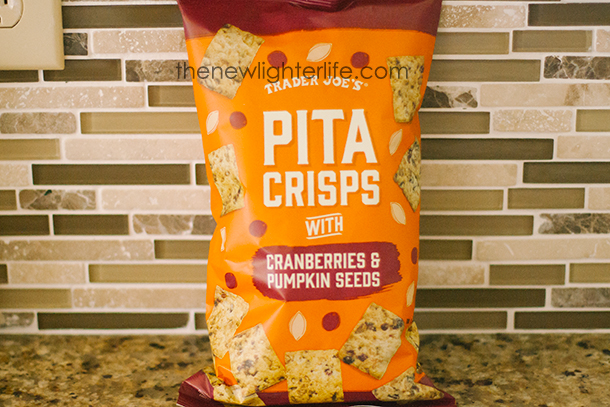 Trader Joe's Pumpkin Cranberry Pita Crisps