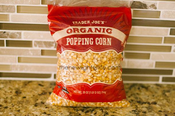 Trader Joe's Organic Popcorn