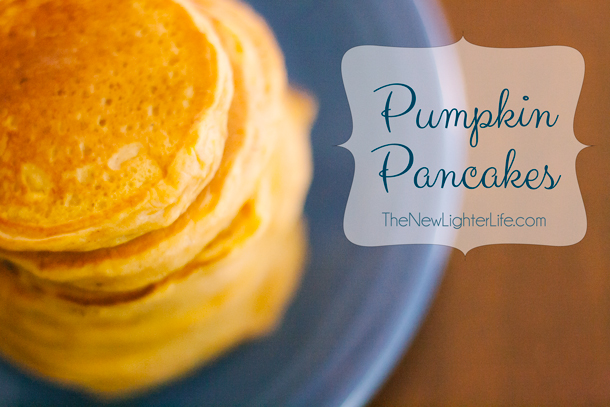 Pumpkin Pancakes from Scratch