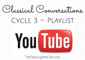 Classical Conversations Cycle 3 YouTube Playlists