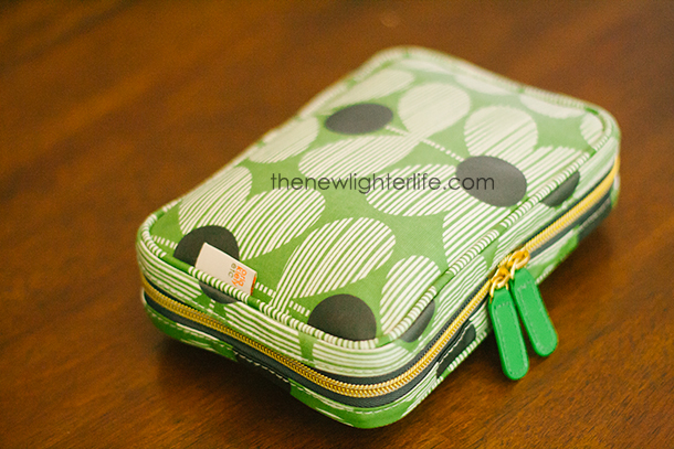 Orla Kiely Makeup Bag Purse Organizer