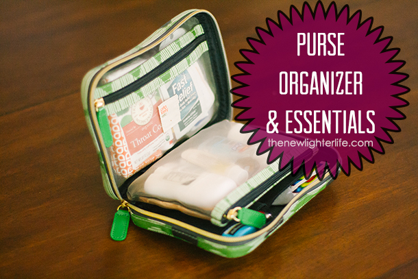 How to Organize your Purse ~ Purse Organizer & Essentials