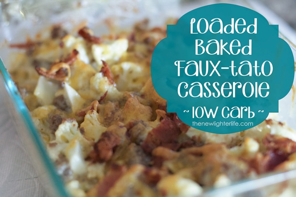 low carb baked potato casserole